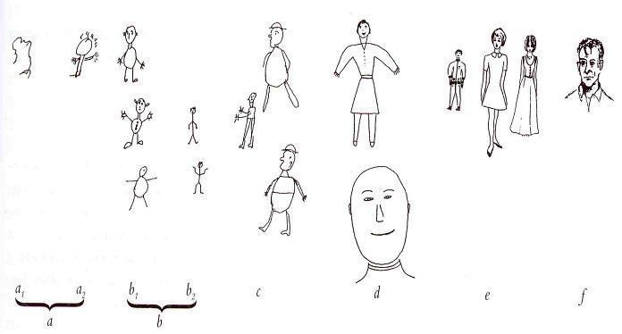 b1: схема из одного овала